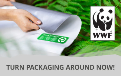 """""""TURN PACKAGING AROUND NOW!"""" – WWF STUDY PROVES THAT DERIBA GREENLINE® FILM IS PERFECT FOR A NEW NORMAL"""